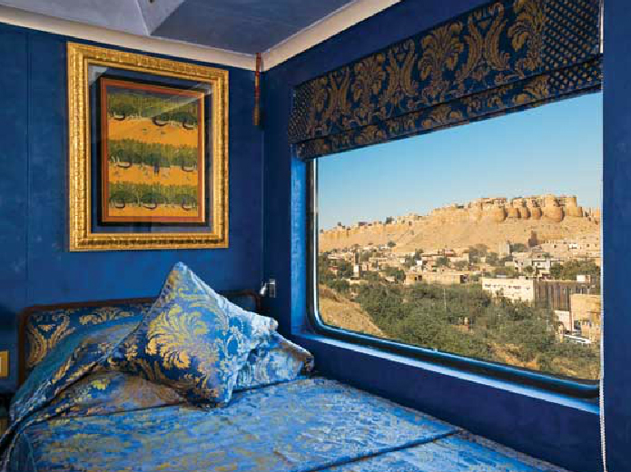 luxury train tours in india